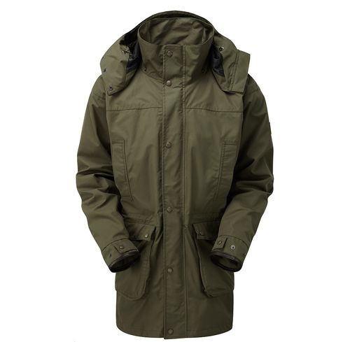 Falkland Country Jacket in Farbe Olive