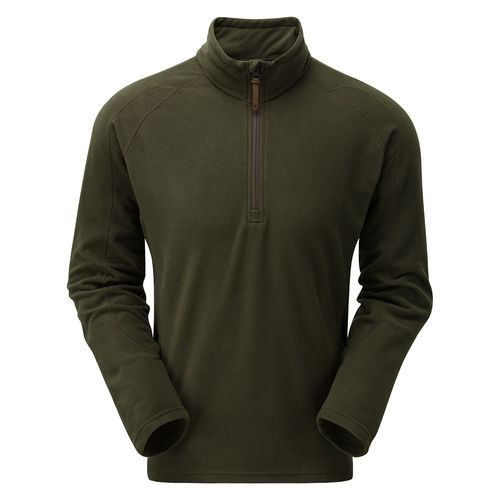 Mens Micro Pulse top in Olive