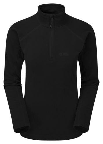 Ladies Micro Pulse top in Schwarz